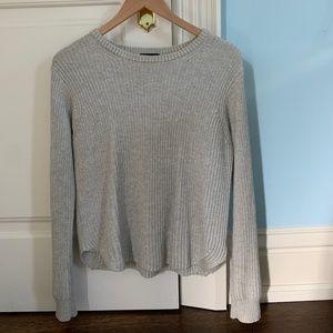 Light Grey Theory Sweater